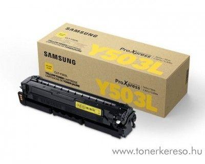 Samsung SL-C3010/C3060 eredeti yellow toner CLT-Y503L Samsung ProXpress C3060FR lézernyomtatóhoz