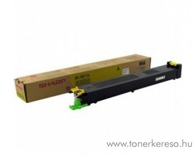 Sharp MX-1800/1800N eredeti yellow toner MX18GTYA
