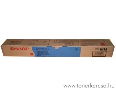 Sharp MX-2300/2700 eredeti cyan toner MX27GTCA