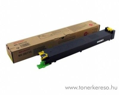 Sharp MX-2600/3100 eredeti yellow toner MX31GTYA