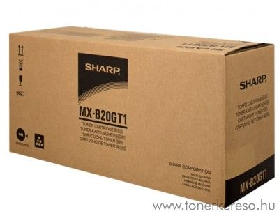 Sharp MX-B200/B201 eredeti black toner MXB20GT1