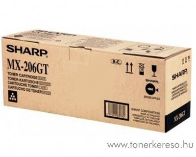 Sharp MX-M160/M200 eredeti black toner MX206GT