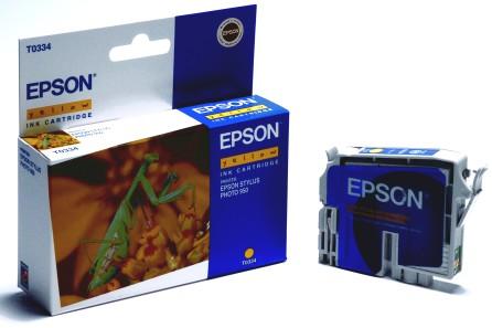 Epson Tintapatron T033440 (Yellow) Epson Stylus Photo 960 tintasugaras nyomtatóhoz