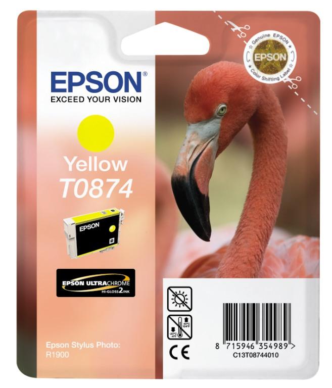 Epson Tintapatron T087440 Epson Stylus Photo R1900 tintasugaras nyomtatóhoz