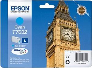 Epson Tintapatron T7032 Epson WorkForce Pro WP-4525DNF tintasugaras nyomtatóhoz