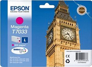 Epson Tintapatron T7033 Epson WorkForce Pro WP-4095 tintasugaras nyomtatóhoz