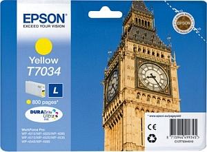 Epson Tintapatron T7034 Epson WorkForce Pro WP-4015DN tintasugaras nyomtatóhoz