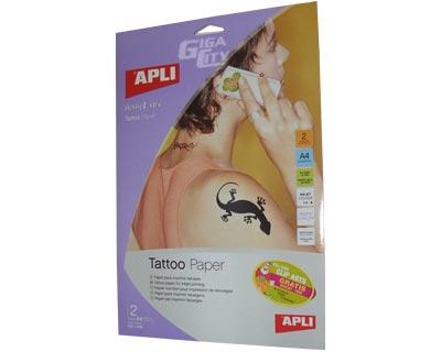 Apli Tattoo Paper - tetováló papír tintasugaras nyomtatókhoz