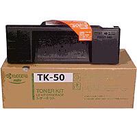 Kyocera TK 50 eredeti fekete lézertoner TK50 Kyocera FS 1900 lézernyomtatóhoz