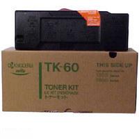 Kyocera TK 60 eredeti fekete lézertoner TK60 Kyocera FS 1800 lézernyomtatóhoz