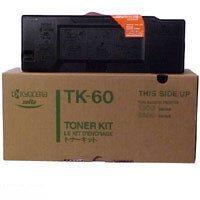 Kyocera TK 60 eredeti fekete lézertoner TK60 Kyocera Mita KM 4530 lézernyomtatóhoz