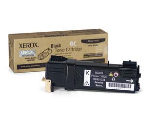 Xerox toner 106R1338-E5 fekete Xerox Phaser 6125 lézernyomtatóhoz