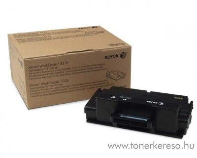 Xerox 3315/3325 eredeti fekete black toner 106R02310