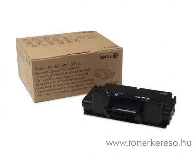 Xerox 3315 eredeti fekete black toner 106R02308 Xerox WorkCentre 3315 lézernyomtatóhoz