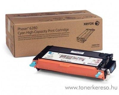 Xerox 6280 eredeti cyan toner 106R01400