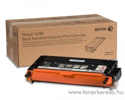 Xerox 6280 eredeti fekete black toner 106R01403