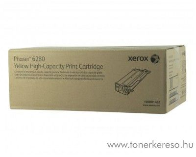 Xerox 6280 eredeti yellow toner 106R01402 Xerox Phaser 6280 lézernyomtatóhoz