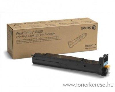 Xerox 6400 eredeti cyan toner 106R01317
