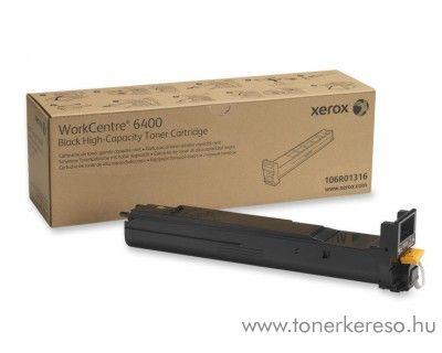 Xerox 6400 eredeti fekete black toner 106R01316