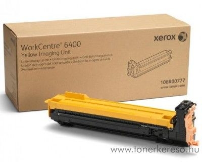 Xerox 6400 eredeti yellow imaging unit 108R00777