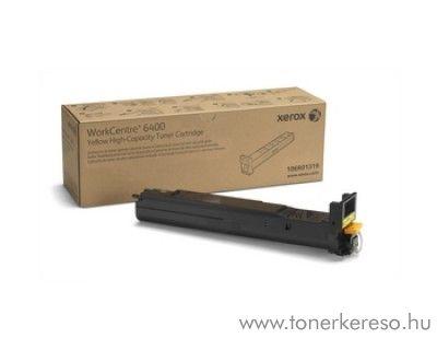 Xerox 6400 eredeti yellow toner 106R01319