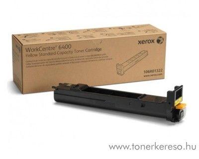 Xerox 6400 eredeti yellow toner 106R01322