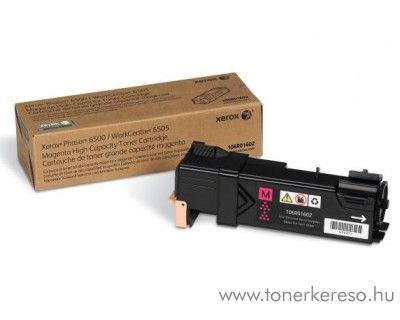 Xerox 6500/6505 eredeti magenta toner 106R01602 Xerox Phaser 6500 lézernyomtatóhoz
