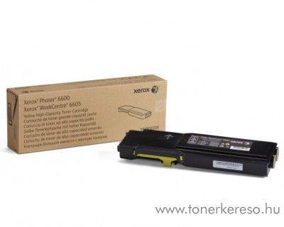 Xerox 6600/WC6605 eredeti yellow toner 106R02235 Xerox Phaser 6600 lézernyomtatóhoz