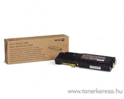 Xerox 6600/WC6605 eredeti yellow toner 106R02251 Xerox Phaser 6600 lézernyomtatóhoz