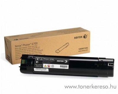 Xerox 6700 eredeti fekete black toner 106R01526