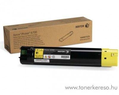 Xerox 6700 eredeti yellow toner 106R01525
