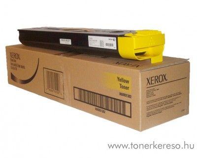 Xerox 700/700i eredeti yellow toner 006R01382