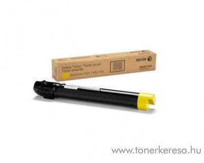 Xerox 7428 eredeti yellow toner 006R01400
