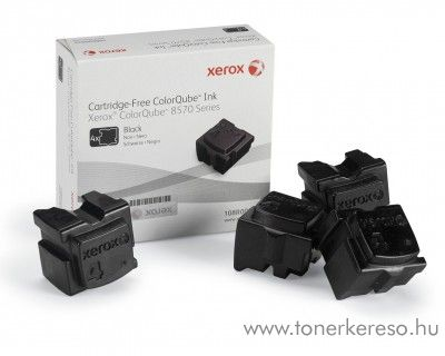 Xerox 8570 eredeti black 4db-os tintapatron csomag 108R00940 Xerox Colorqube 8570 lézernyomtatóhoz