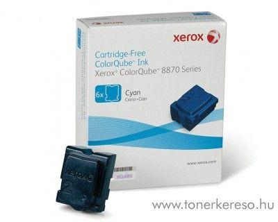 Xerox 8870 eredeti cyan 6db-os tintapatron csomag 108R00958 Xerox ColorQube 8870 lézernyomtatóhoz