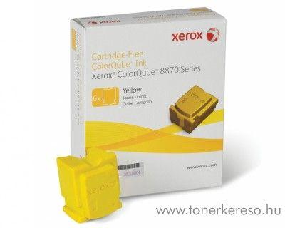 Xerox 8870 eredeti yellow 6db-os tintapatron csomag 108R00960 Xerox ColorQube 8870 lézernyomtatóhoz