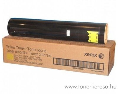 Xerox DC2128/7228/7235/7245 eredeti yellow toner 006R01178 Xerox WorkCentre Pro C2128 lézernyomtatóhoz