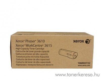 Xerox P3610/WC3615 eredeti fekete black toner 106R02723 Xerox Phaser 3610 lézernyomtatóhoz