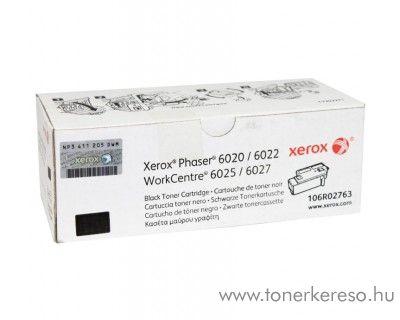 Xerox Phaser 6020/6022 eredeti black toner 106R02763