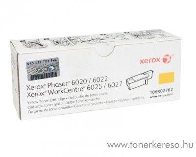 Xerox Phaser 6020/6022 eredeti yellow toner 106R02762 Xerox Phaser 6022 lézernyomtatóhoz