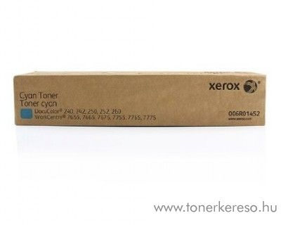 Xerox WC 7655/7665/7675 2db eredeti cyan toner 006R01452 Xerox DocuColor 240 fénymásolóhoz