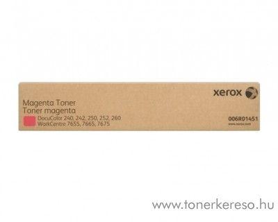 Xerox WC 7655/7665/7675 2db eredeti magenta toner 006R01451 Xerox WorkCentre 7675 fénymásolóhoz