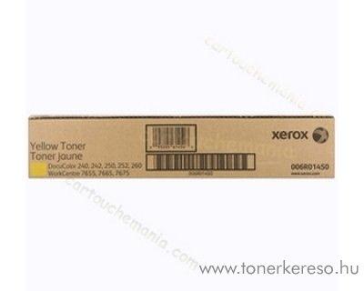 Xerox WC 7655/7665/7675 2db eredeti yellow toner 006R01450 Xerox WorkCentre 7665 fénymásolóhoz