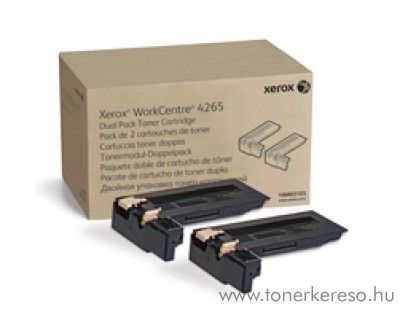 Xerox WorkCentre 4265 dual pack eredeti black toner 106R03103