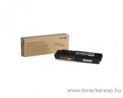 Xerox WorkCentre 6655 eredeti yellow toner 106R02754